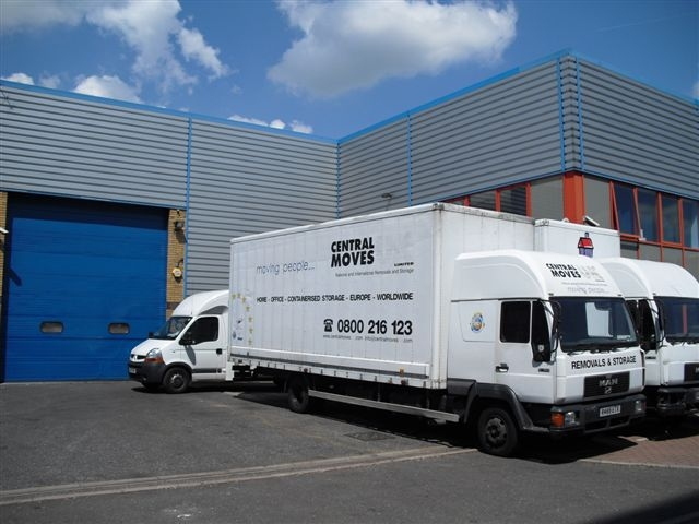 Removals To Greece Trucks