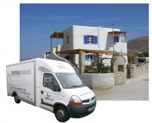 Removals to Greek Islands Van Pic