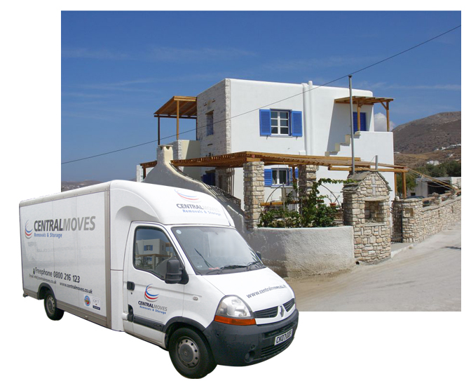 Need help moving to greece or greek islands for Good greek moving and storage